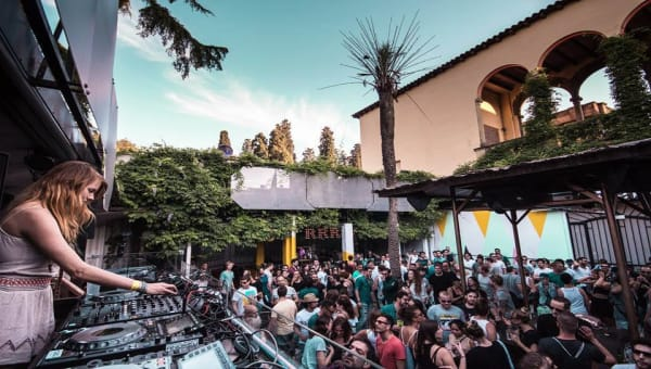 Sunlit Open Air Festival La Terrrazza Daytime Night Club